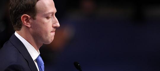Facebook a picco : crollo da 120miliardi.